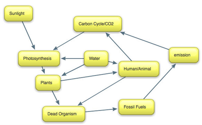 Carbon cycle and global warming lee wangs science portfolio this diagram shows you that how carbon cycle works sunlight is really important because it has the temperature fossil fuels are used by humans because we ccuart